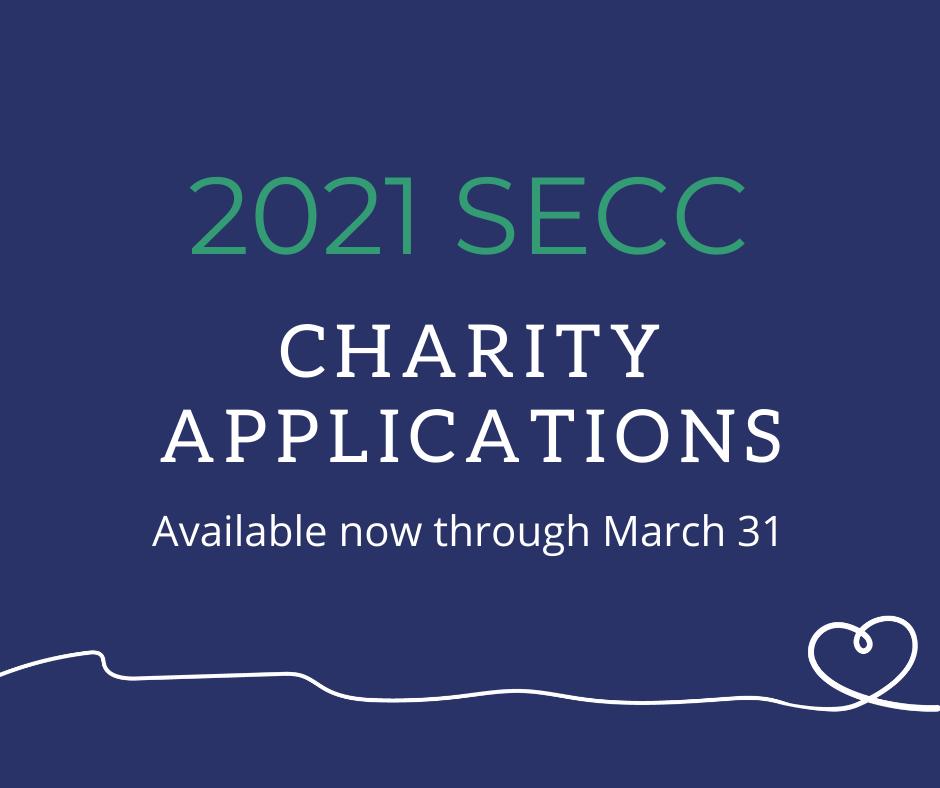 2021 SECC Charity Applications
